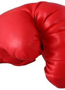 guante de boxeo