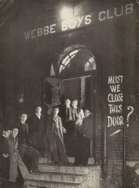Webbe Club Image 1950