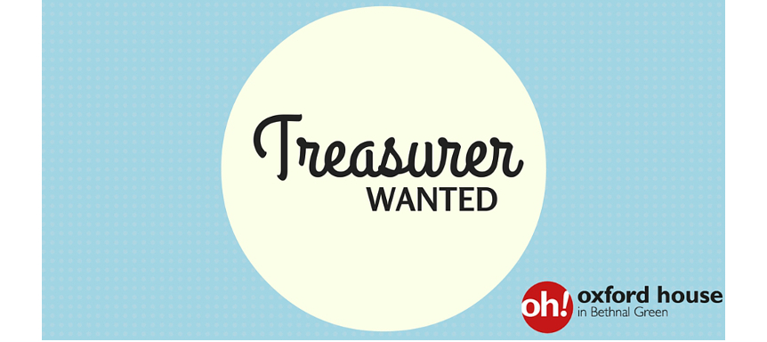 oxford house is looking for a treasurer oxford house