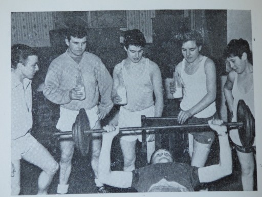 1961-62_source C.A. Annual Report_copyright OH_weight-lifting class