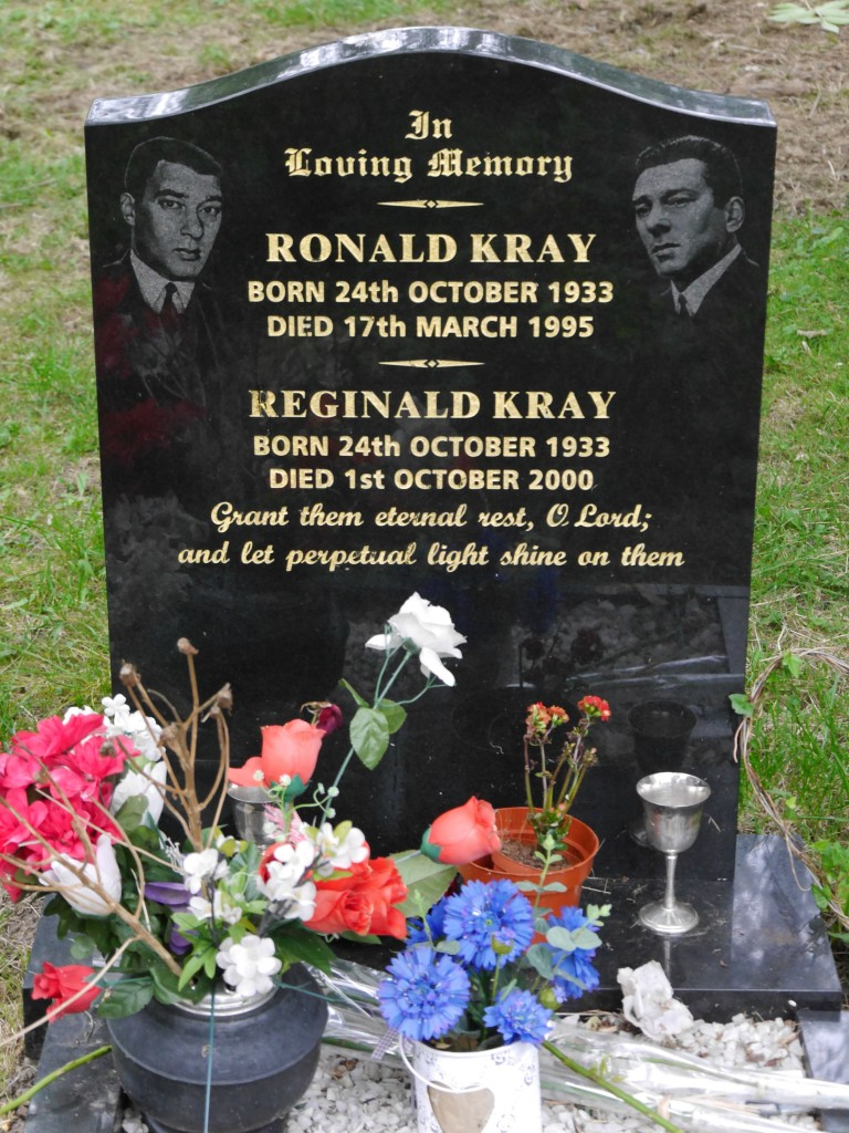 kray twins' grave chingford mount cemetery