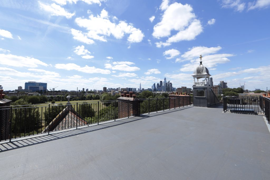 The Roof Terrace at Oxford House, Bethnal Green