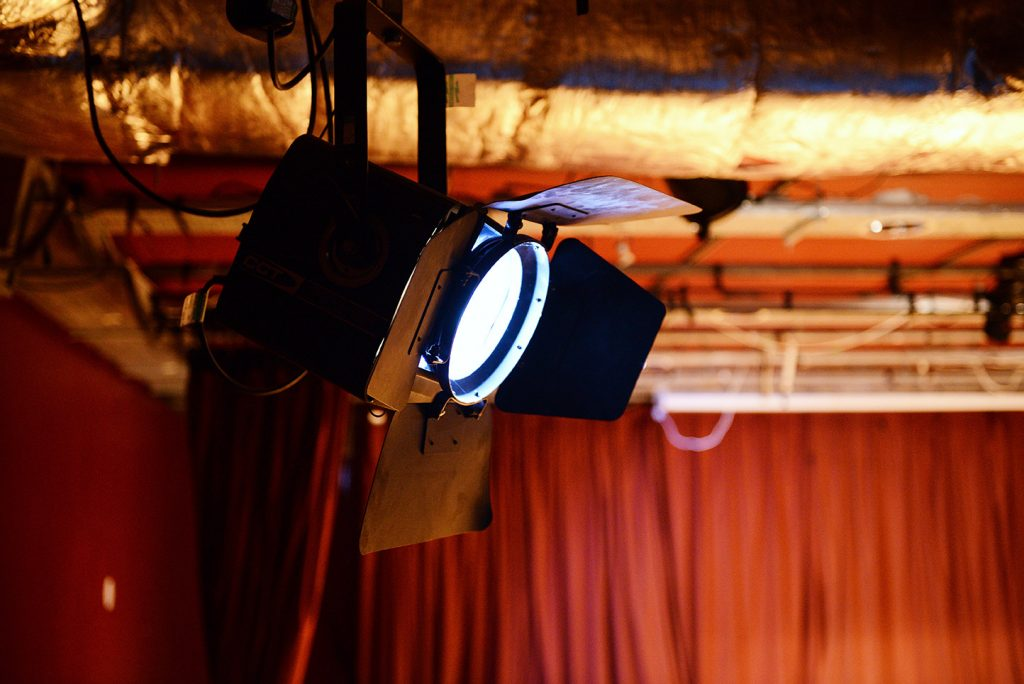 Theatre lights for Filming and Photoshoots