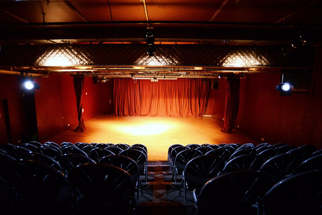 The Theatre Stage at Oxford House